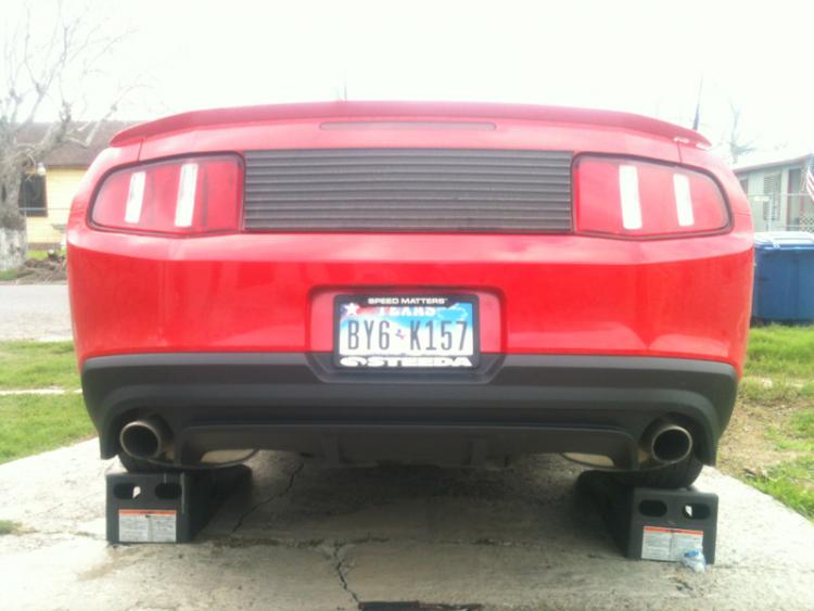 CS rear diffuser.
