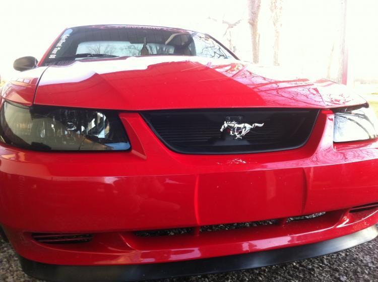 Grille Delete Mustang Evolution
