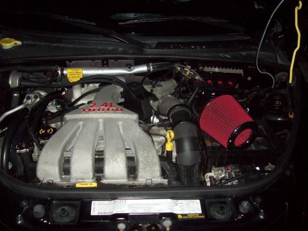 engine and intake