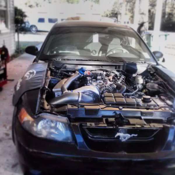 Engine work almost done. :D