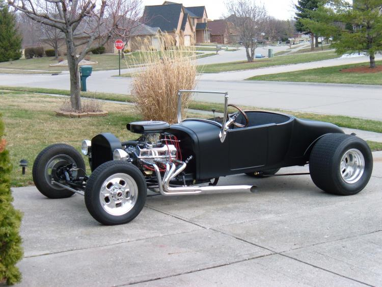 Finished 1927 Ford Roadster after two years of hard work.