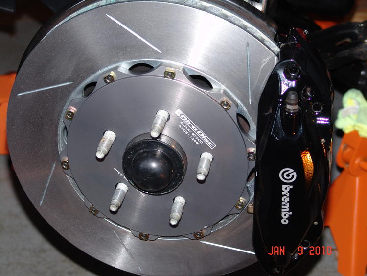 girodisc 2-piece rotors (front & rear)