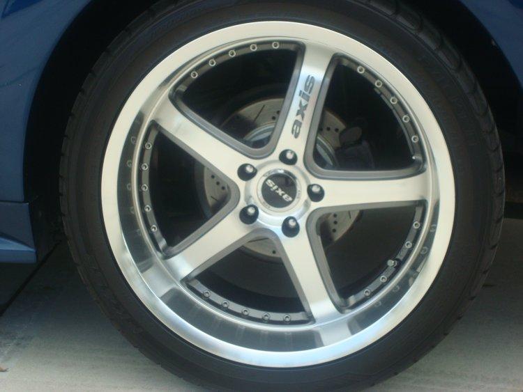 Got some wheels 8.5 F 9.5 R