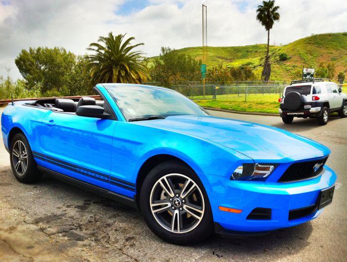 I do love Grabber Blue