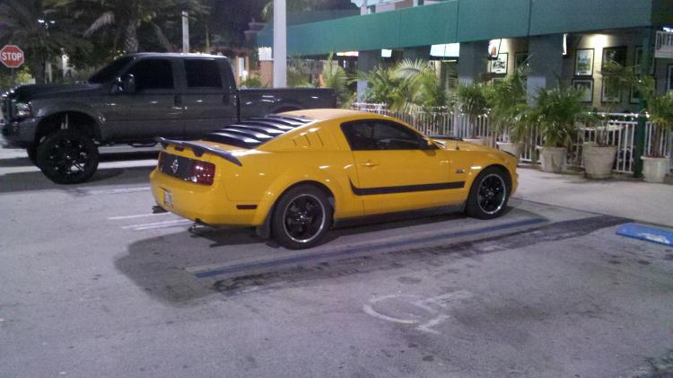 Inspiration to buy a Mustang. Ft. Lauderdale, FL