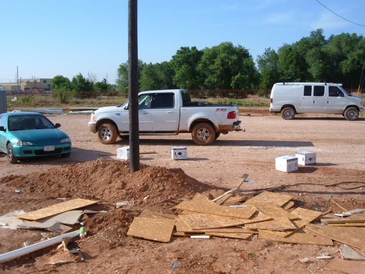 Jobsite in Lubbock, TX