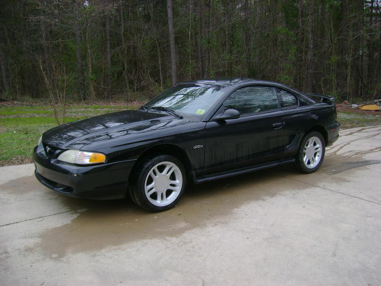 "Just got done washing it, it was a dirty car. I changed wheels, those 17""s came off of a 1998 GT"