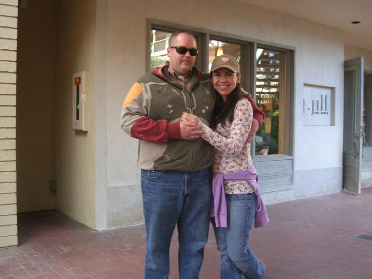 Me and the wife on our 15 years Anniversary trip to Carmel