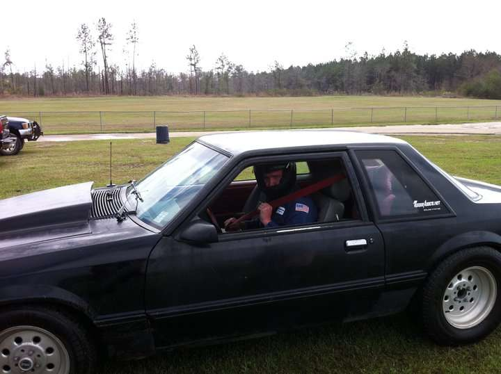 me driving the slave at hub city dragway in hattiesburg mississippi