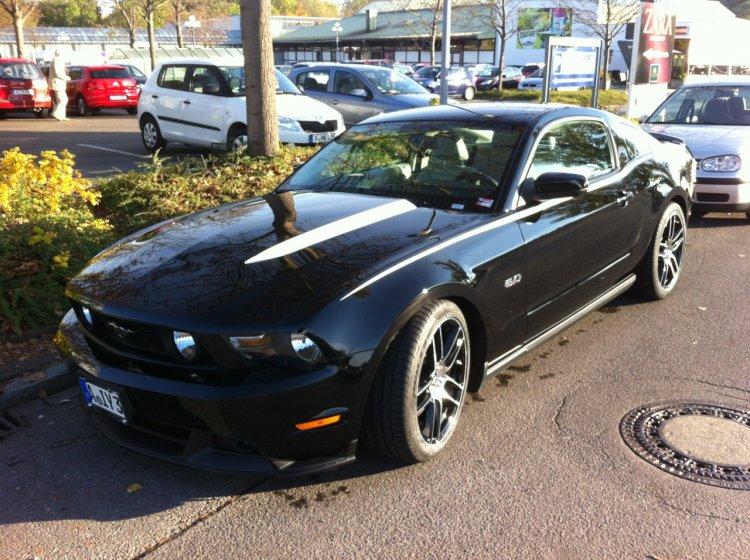 Mustang 2011 Streifen