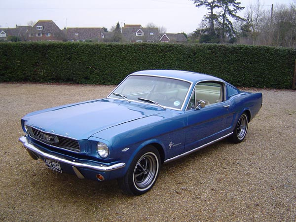 Mustang Front Left