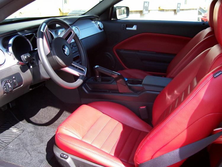 Mustang GT Interior