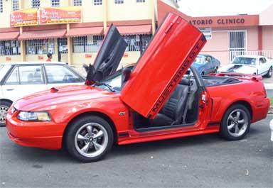 Mustang vertical doors avatar 1