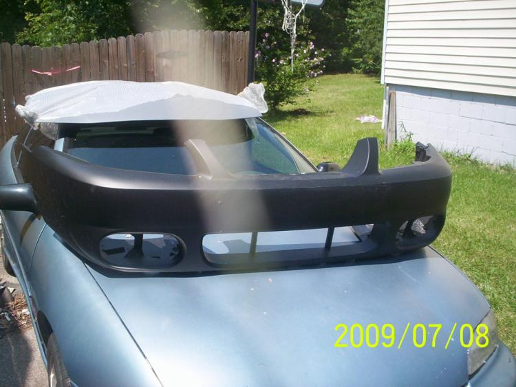 my new 2004 COBRA nose..should have her on soon as i can get it painted.