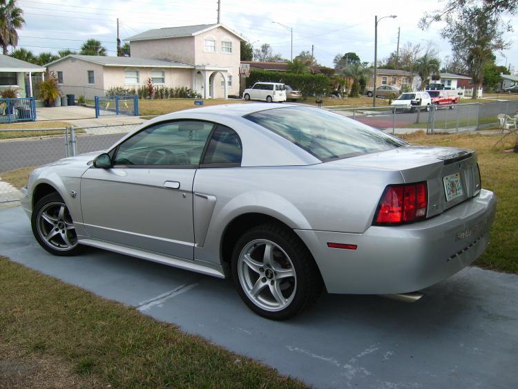 My Pony on Cobras W/Dual Exhaust!!