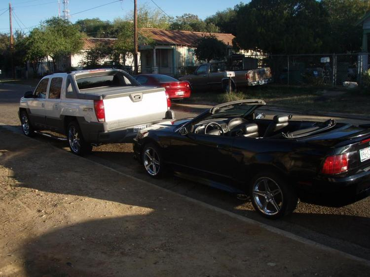 My truck and My Mustang
