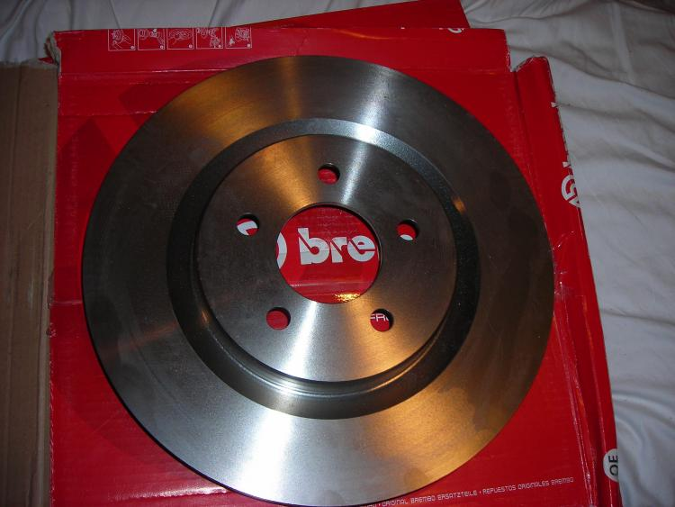 "New 13"" Brembo Rotor out of package (Heavy *** hell)"