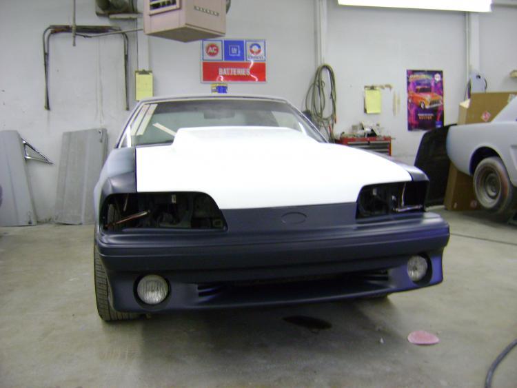 new bumper & cowl hood
