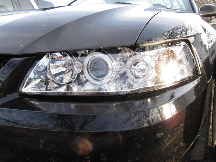 New Headlights (driver closeup)