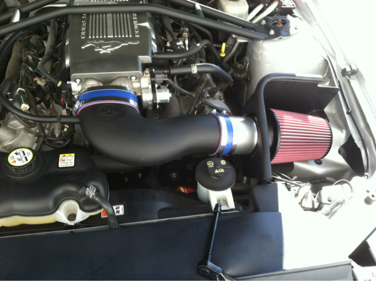New intake never again will i get carbon fiber way to sensative