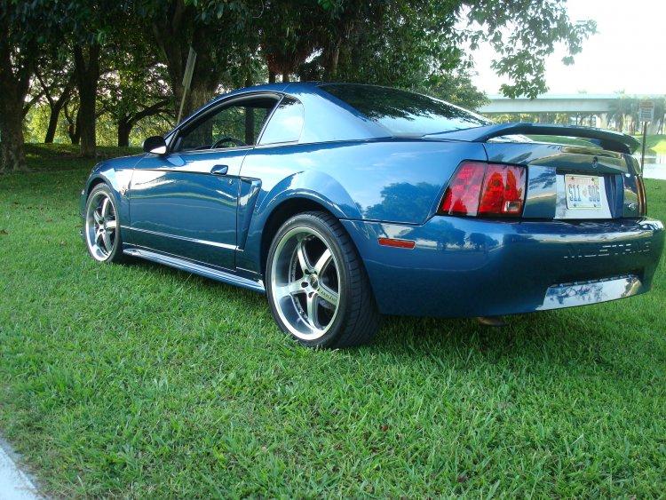 new paint 99 atlantic blue original color