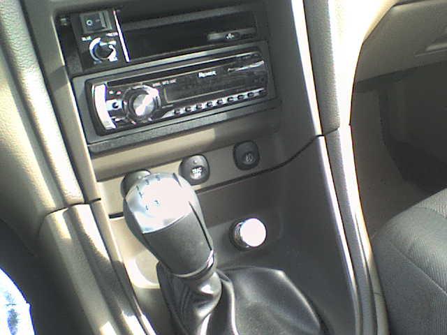 new radio last year plus new shifter knob