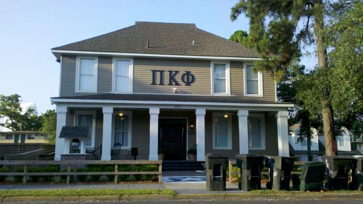 Pi Kapp house in Tallahassee