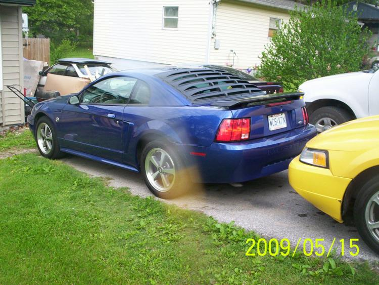 rear louvers from american muscle
