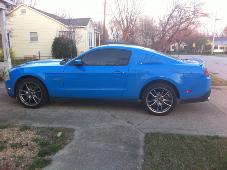 Right after I got my Roush quarter window louvers..