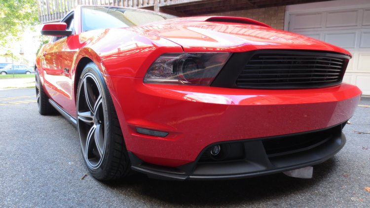 Roush grille and CS valence