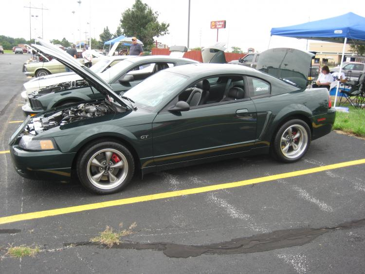 THE BABY- 2001 Mustand bullitt , styled of course after possible the best car chase scene ever made. Steve mcqueens BULLITT