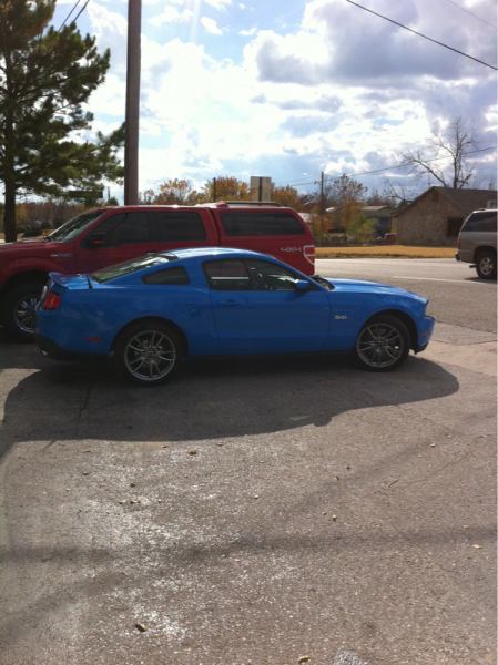 The day I got my 5.0..   It was a good day :)