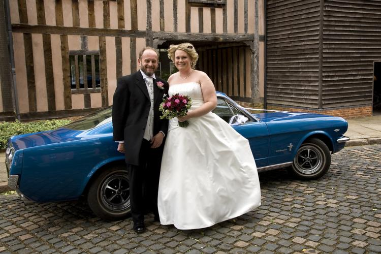 The ideal wedding car - big enough for any dress.