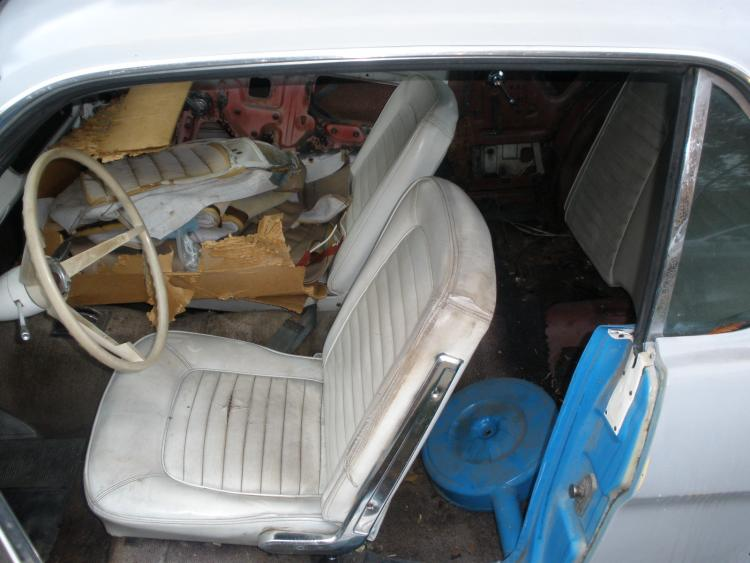 The interior.