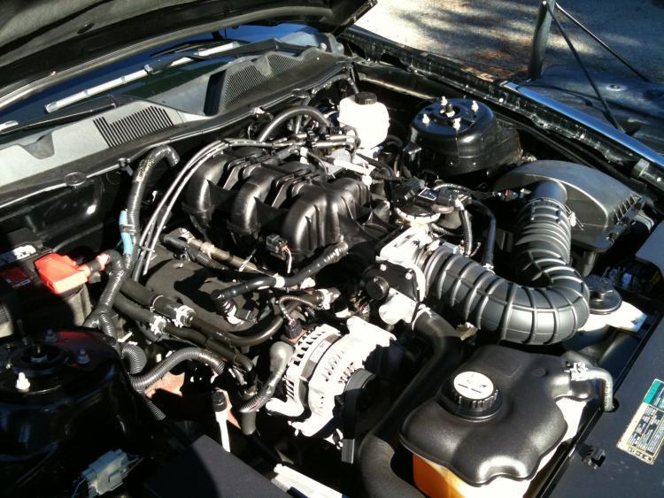 Un-Modified Engine